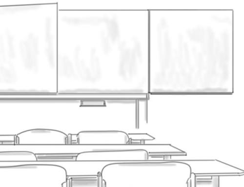 Corona-Lektionen II: Leere Klassenzimmer