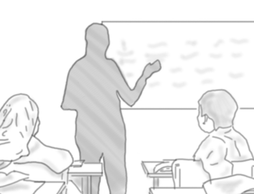 Gedenkminute für einen Lehrer